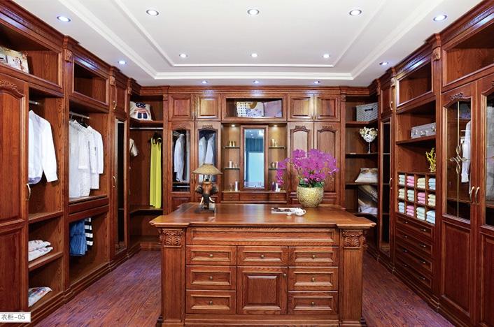 家居实木衣柜定制