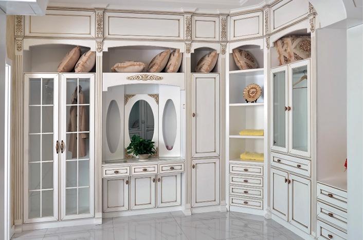 高端实木衣柜