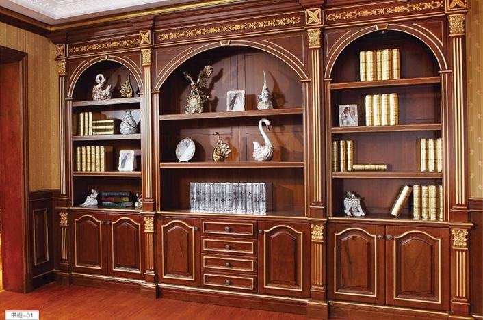 实木书柜定制
