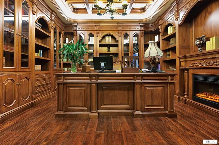 精品实木书柜