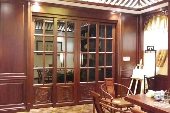 传统中式书柜定制