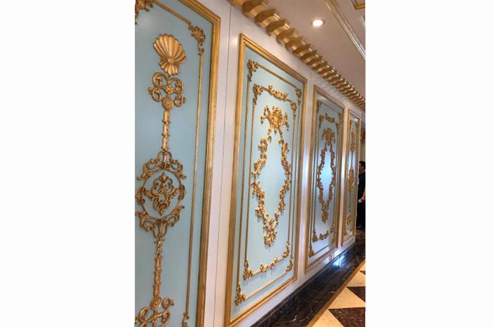 奢华法式护墙板