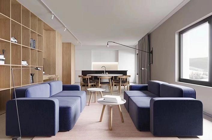 现代极简整体家具