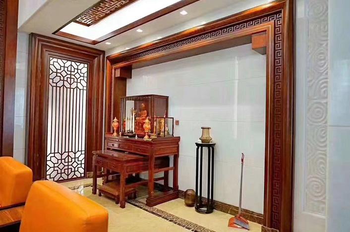 上海传统中式护墙板定制