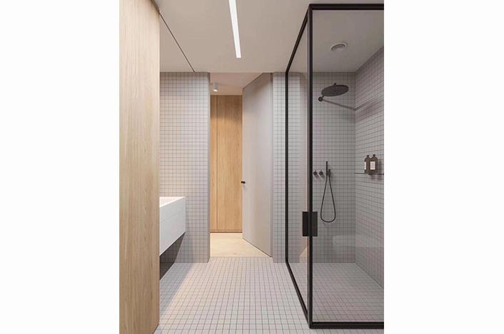上海现代极简卫浴柜