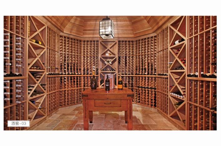 定制实木酒窖